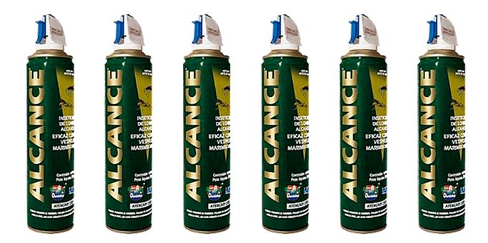 Alcance Inseticida 400 ml - Kit com 6 unidades