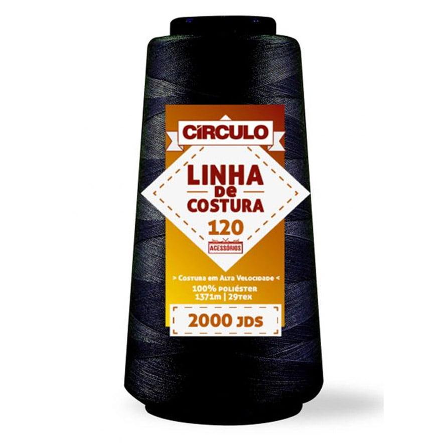 LINHA CÍRCULO COSTURA RETA 120 - C/ 1828 METROS