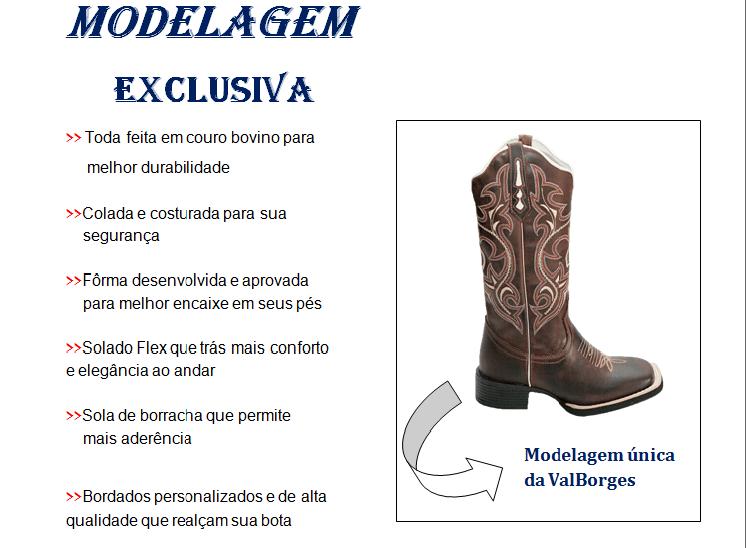 9221479774b3a modelagem exclusiva bota texana country cano longo