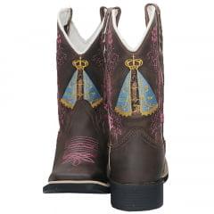 55707a30ec999 Bota Texana Country Feminina Cano Longo Hopper