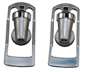 Kit torneira Ibbl modelo novo prata
