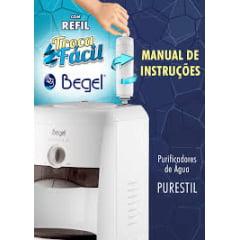 Filtro refil para purificador Begel Purestil  modelo novo