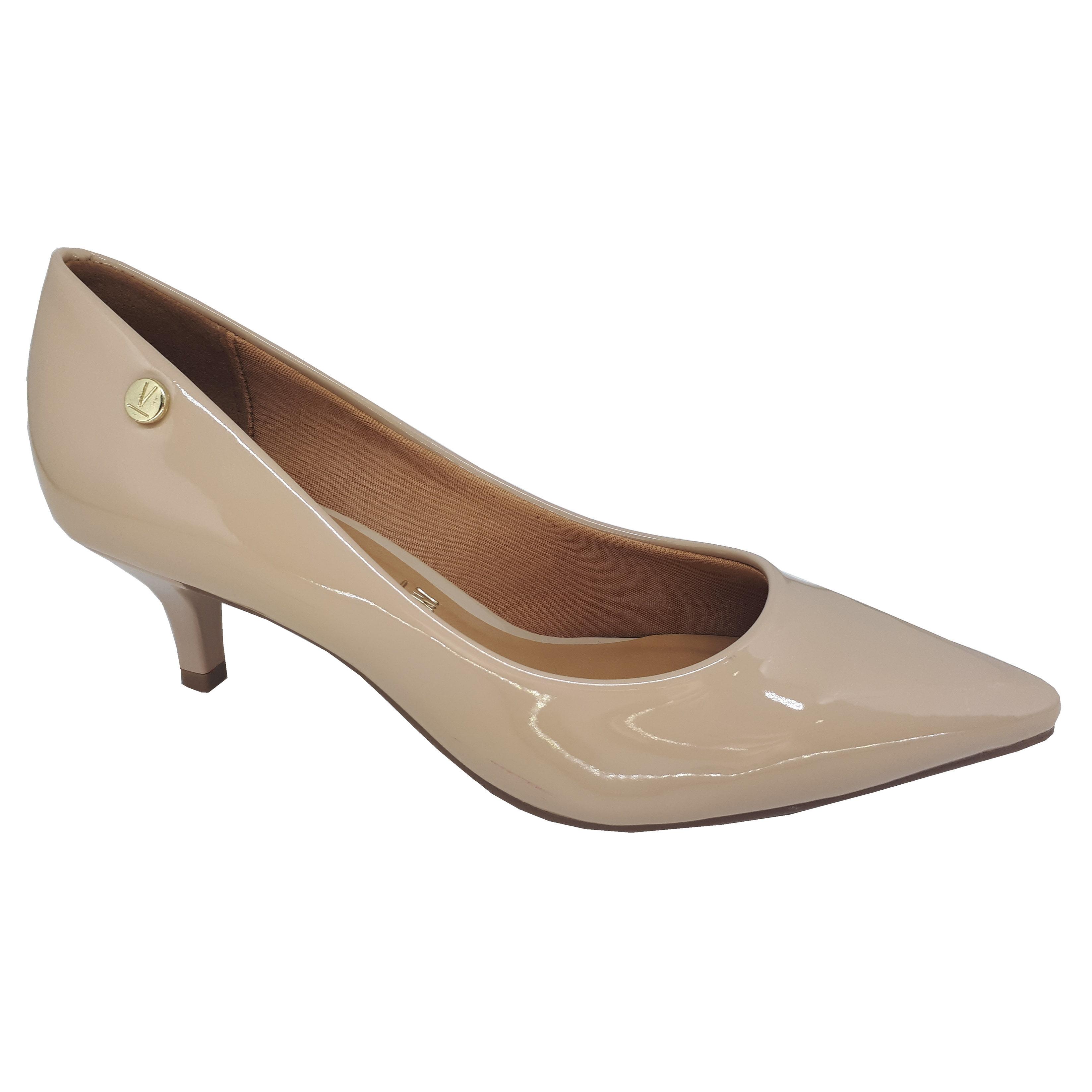 b0a9b8755a Feminino Feminino Feminino Salto Scarpin 05 Social Sapato I cm Scarpin s  Scarpin s Scarpin s Baixo Vizzano 4gq71