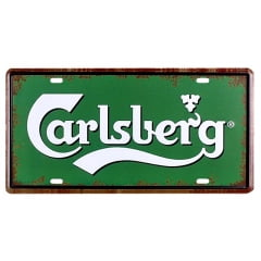 PLACA METAL CARLSBERG