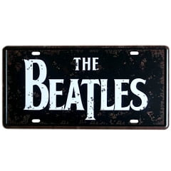 PLACA METAL THE BEATLES ref.273