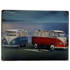 PLACA METAL KOMBI ref.15130
