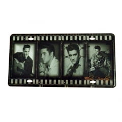 PLACA METAL ELVIS PRESLEY