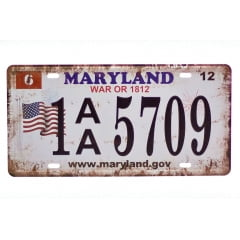 PLACA METAL MARYLAND