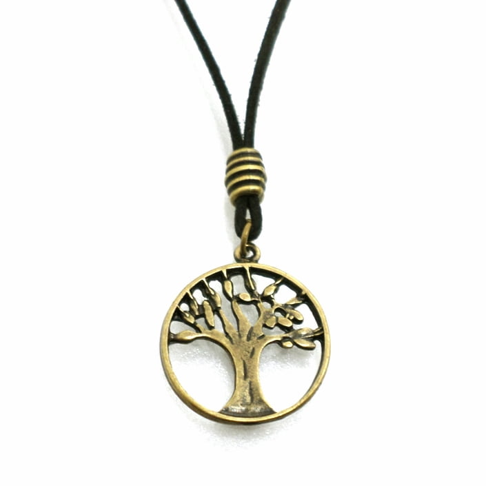 Cordão Árvore da Vida Ouro Velho