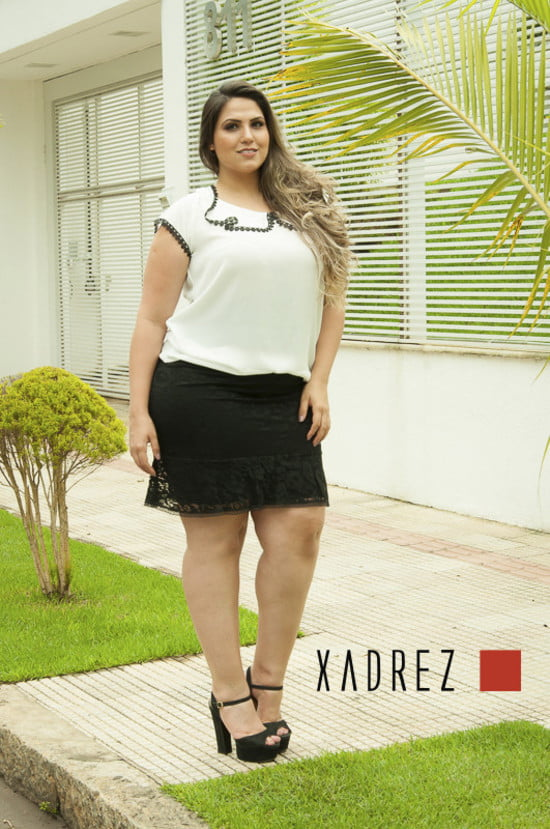 Mini Saia Plus Size