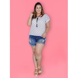Short Jeans Plus Size