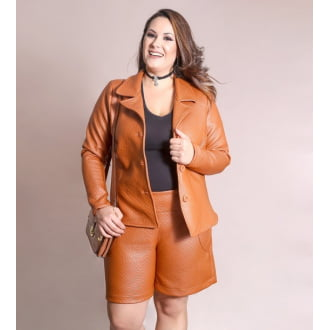 Short Matelassê Plus Size