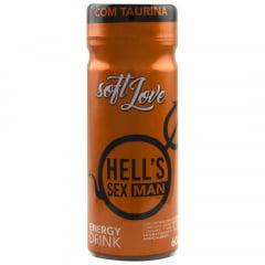 HELL'S SEX MAN ENERGETICO 60ML SOFT LOVE
