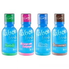 + SABOR FRESH ICE GEL COMESTÍVEL 35ML GARJI