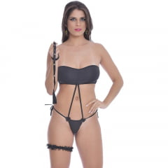 KIT MINI FANTASIA GAROTA CRUEL SOFT LOVE