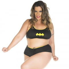 KIT MINI FANTASIA PLUS SIZE BAT GIRL PIMENTA SEXY
