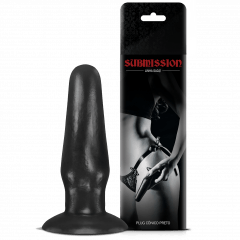 PLUG CÔNICO BLACK SUBMISSION SEXY FANTASY
