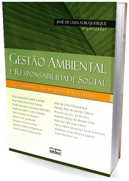 Livro Gestão Ambiental e Responsabilidade Social - Conceitos, Ferramentas e Aplicações