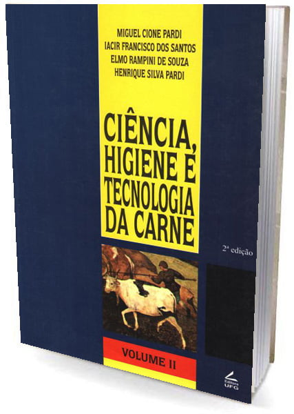 Livro Ciência, Higiene e Tecnologia da Carne  Volume II