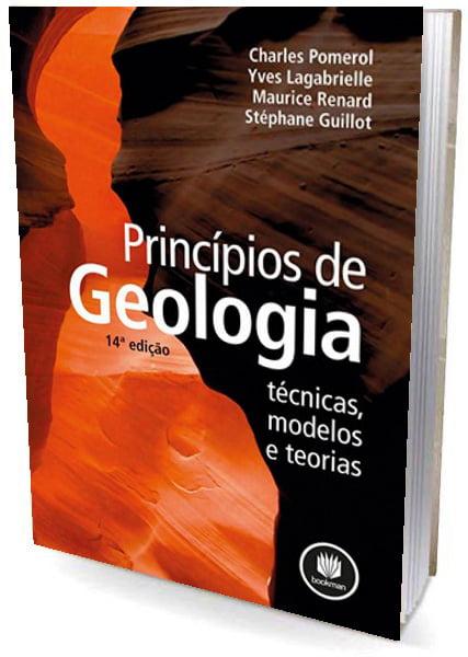 Livro Princípios de Geologia - técnica, modelos e teorias