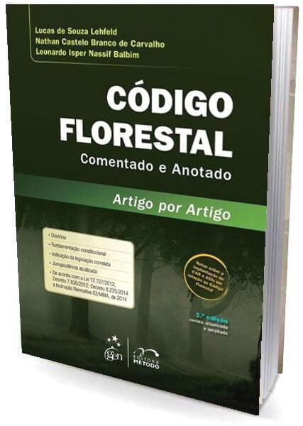Livro Código Florestal Comentato e Anotado Artigo por Artigo