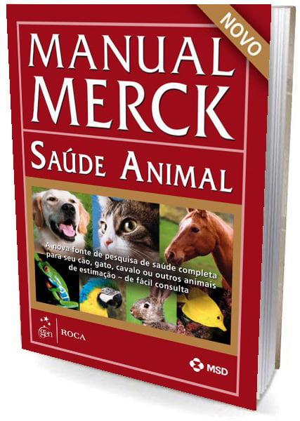 Livro Manual Merck de Veterinária