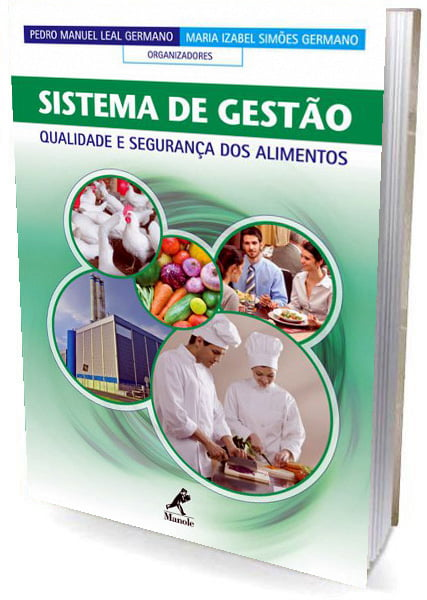 Livro Sistema de gestão: qualidade e segurança dos alimentos