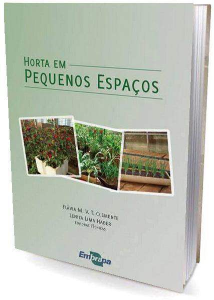 Livro Horta em Pequenos Espaços