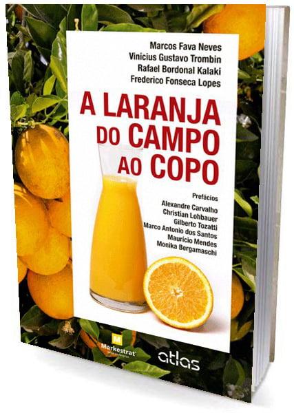 Livro a laranja do campo ao copo