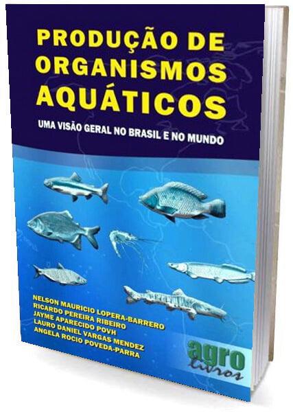 Livro Produção de Organismos Aquaticos