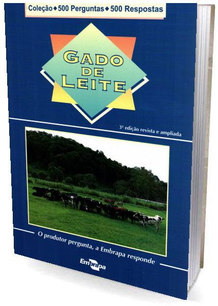 Livro Gado de Leite - 500 perguntas / 500 respostas