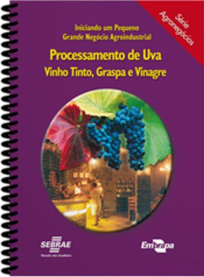 Livro Processamento de Uva - Vinho Tinto