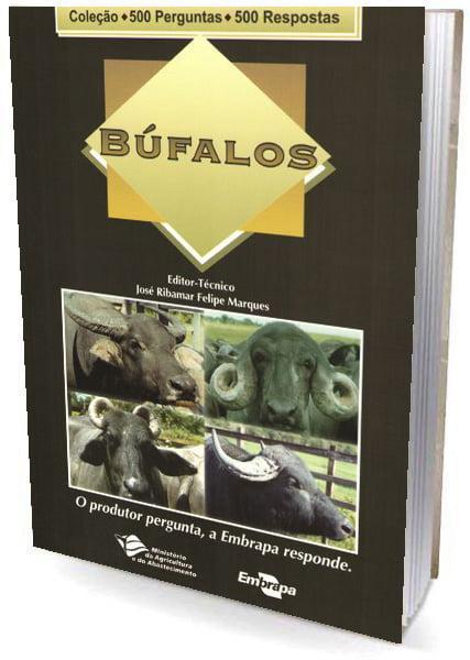 Livro Búfalos - 500 perguntas / 500 respostas