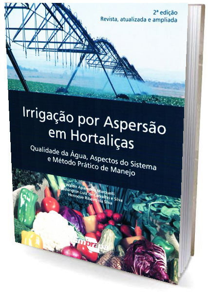 Livro Irrigação por Aspersão em Hortaliças