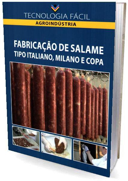Fabricação de Salame Tipo Italiano, Milano e Copa