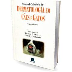 Livro - Manual Colorido de Dermatologia em Cães e Gatos