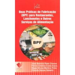 Livro Boas Práticas de Fabricação (BPF) para Restaurantes, Lanchonetes e Outros Serviços de Alimentação