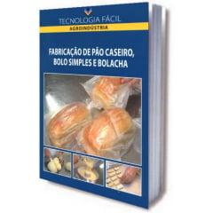 Livro - Fabricação de Pão Caseiro, Bolo Simples e Bolacha