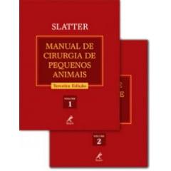 Livro - Manual de Cirurgia de Pequenos Animais (2 volumes) ? 3ª edição