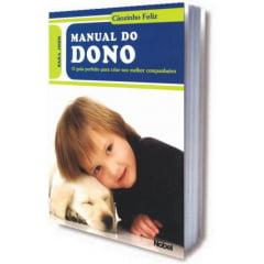 Livro  Manual do Dono - Cãozinho Feliz