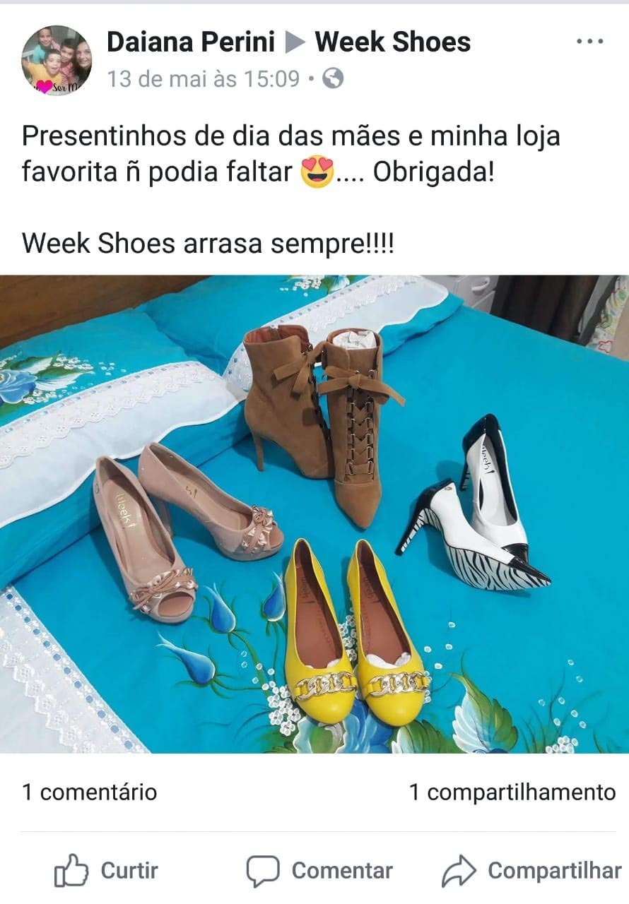 Depoimento Daiana Perini sobre Week Shoes