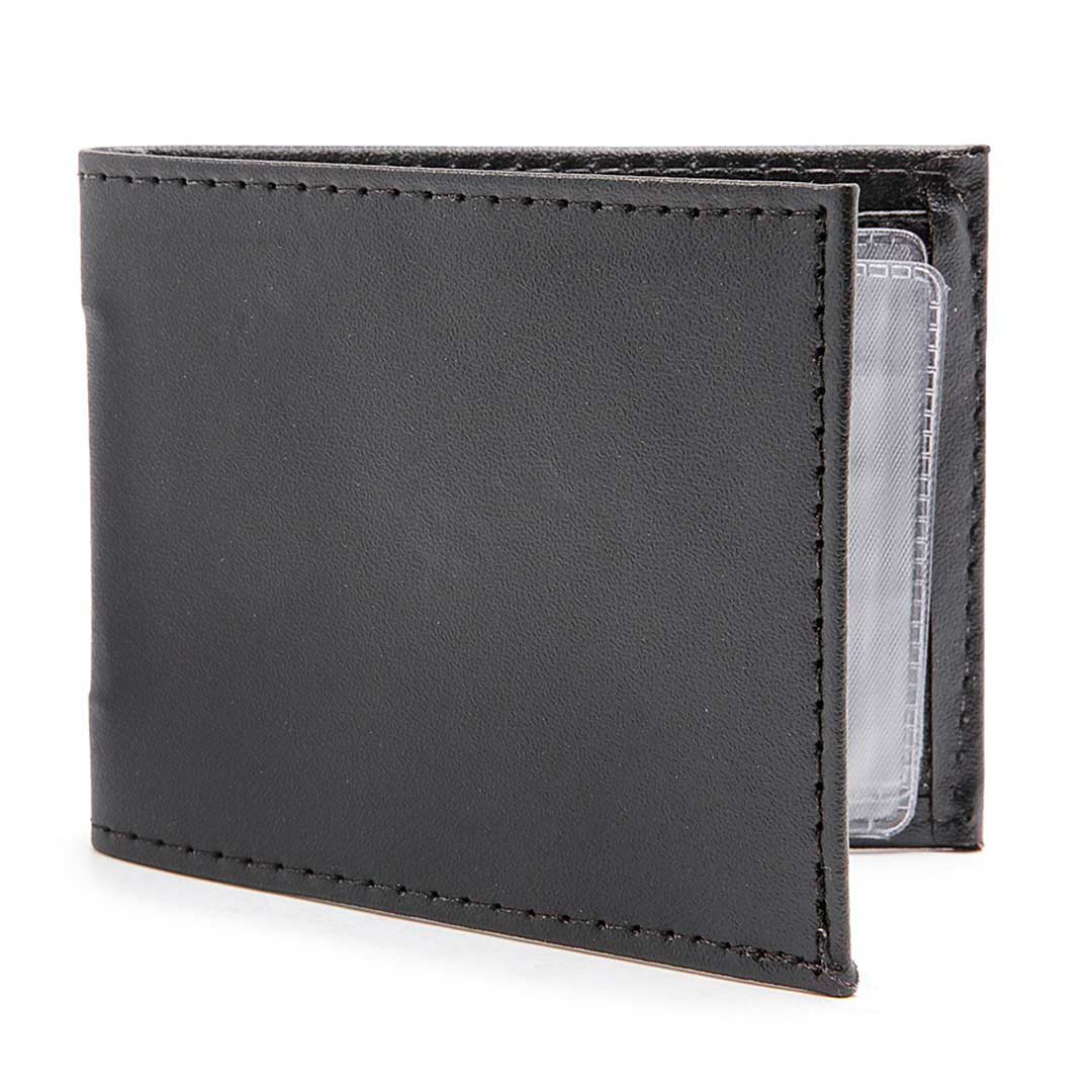 carteira masculina couro com porta cartões