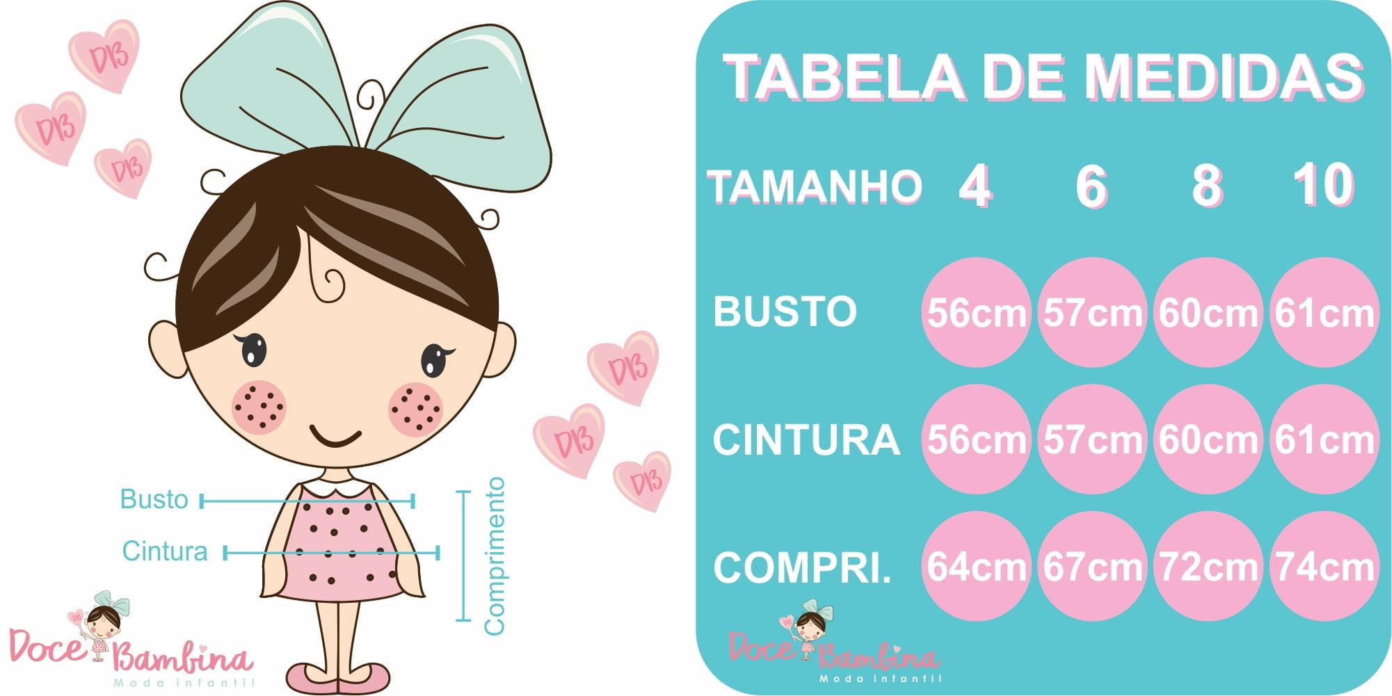 vestido infantil floral rosas medidas
