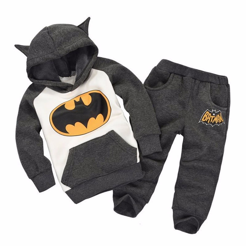 Conjunto de Moletom infantil do Batman