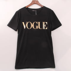 Camiseta feminina Vogue