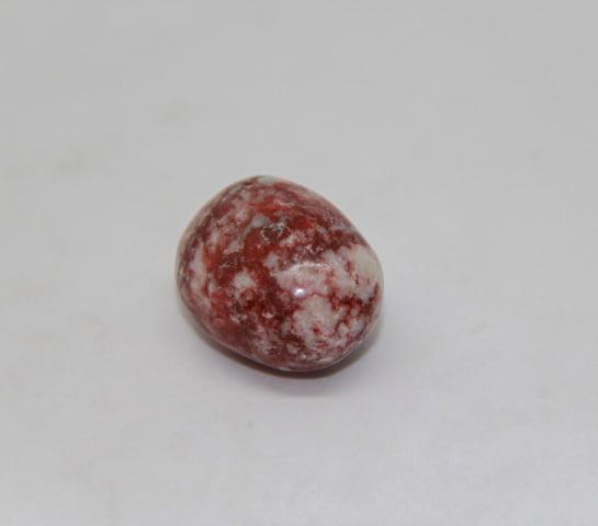 Pedra Jaspe Sanguíneo Rolada