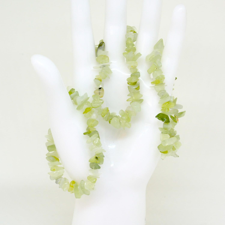 Pulseira de Pedra Jade Novo Rolada - Helena Cristais