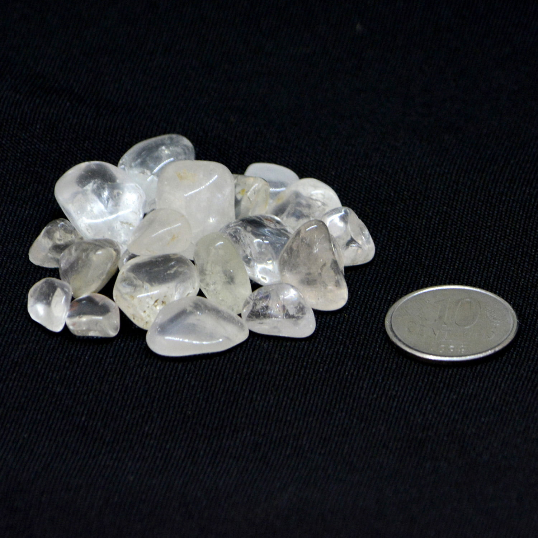 Pacote de Pedra Quartzo Cristal 100g 0,2 a 1 cm