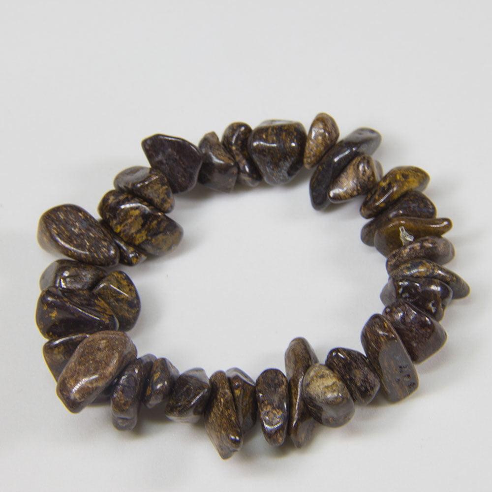 Pulseira de Pedra Bronzita