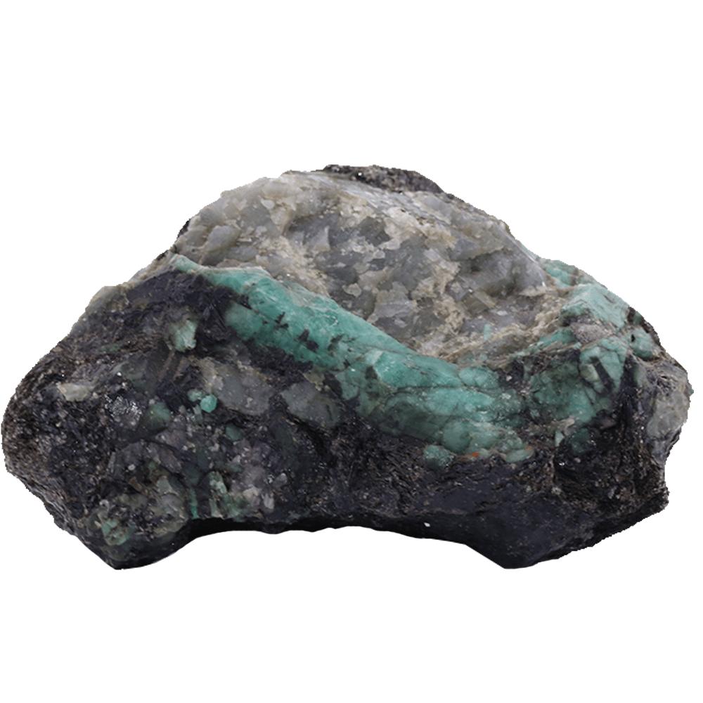 Pedra Esmeralda Bruta sem Base 596g